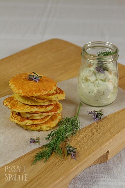 Pancakes ai fiori di zucchina_Posate Spaiate