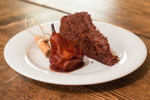 Torta pere e cioccolato_Posate-Spaiate