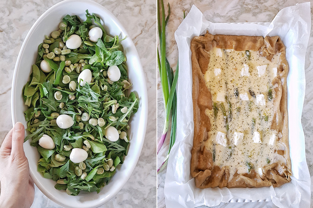 Crostata salata con asparagi_Posate Spaiate