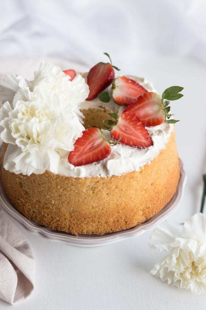 Chiffon cake al limone_Posate Spaiate