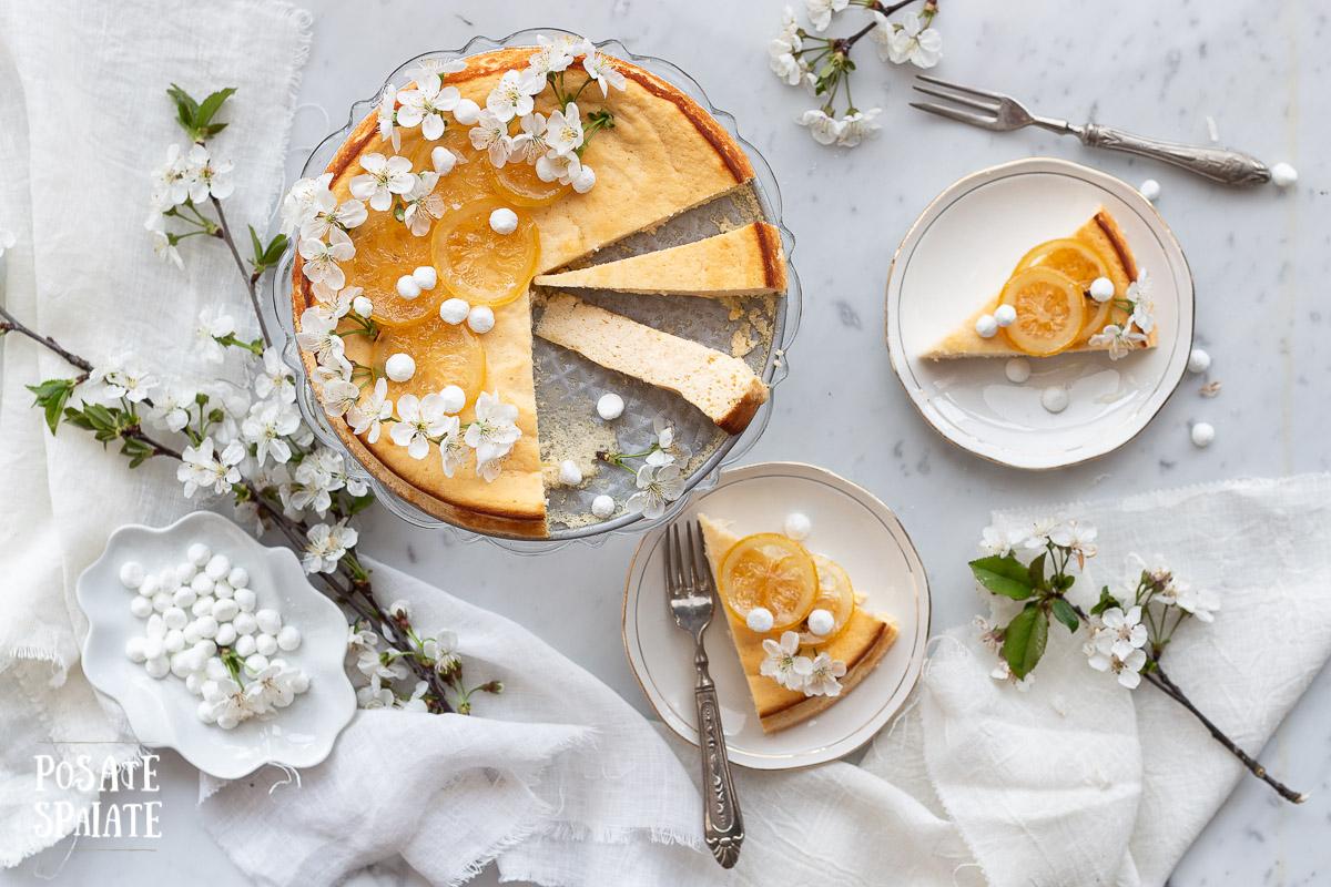 Fiadone torta ricotta e limone_Posate Spaiate