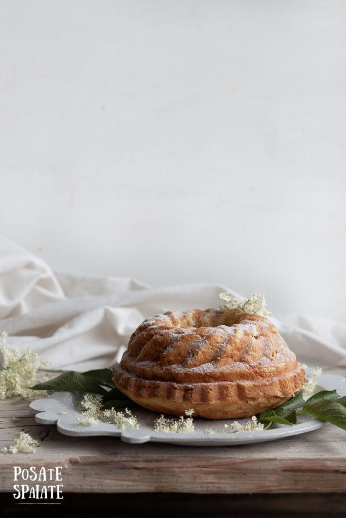 Torta con sambuco e ricotta