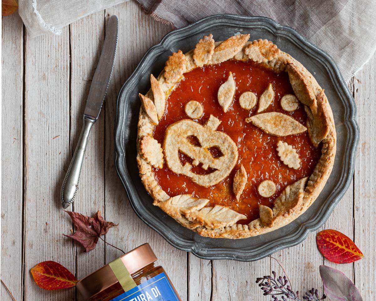 Crostata di Halloween senza burro