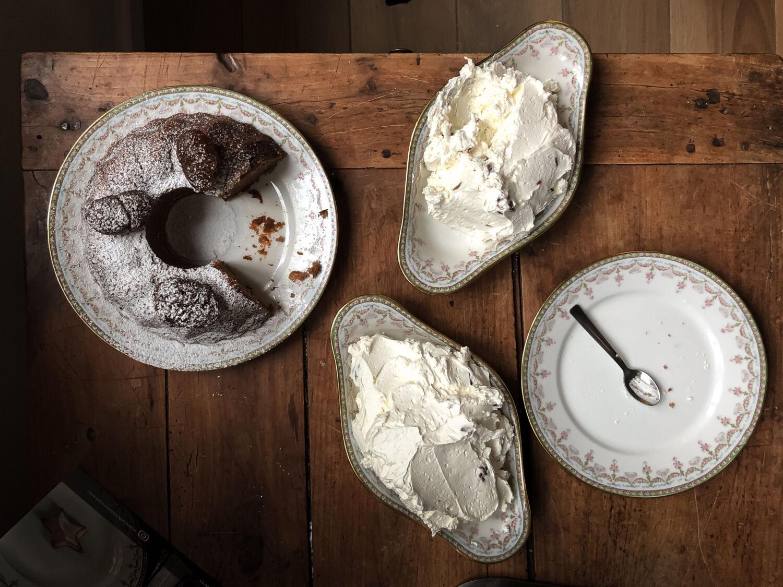 Torta con crema di marroni_Posate Spaiate