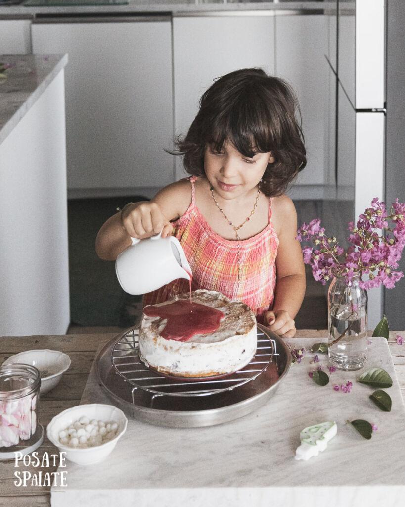 Glassa alla frutta per torta gelato_Posate-Spaiate
